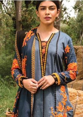 Orient Textile Embroidered Cottel Unstitched 2 Piece Suit OT20MW B-167 - Winter Collection