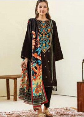 MYSA by Orient Embroidered Karandi Unstitched 3 Piece Suit OT20-MW2 189 B - Winter Collection