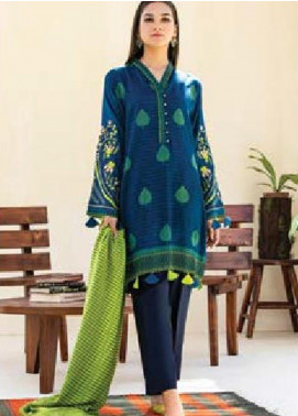 MYSA by Orient Embroidered Cottel Linen Unstitched 3 Piece Suit OT20-MW2 212 A - Winter Collection