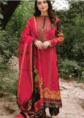 MYSA by Orient Embroidered Cottel Linen Unstitched 3 Piece Suit OT20-MW2 216 A - Winter Collection