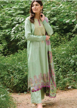 MYSA by Orient Embroidered Cottel Linen Unstitched 3 Piece Suit OT20-MW2 219 B - Winter Collection
