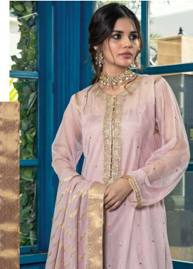 Orient Textile Embroidered Zari Net Unstitched 3 Piece Suit OT19F 276 - Premium Formal Collection