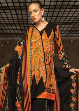 Orient Textile Embroidered Cotton Cotel Unstitched 3 Piece Suit OT18W 218A Sun Ray - Winter Collection