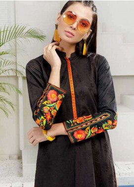 Orient Textile Embroidered Jacquard Unstitched Kurties OT19-L2 140 A - Spring / Summer Collection