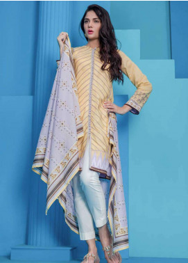 Orient Textile Printed Lawn Unstitched 2 Piece Suit OT19L 020 Ikat B - Spring / Summer Collection