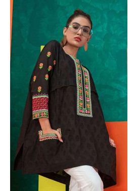 Orient Textile Embroidered Jacquard Unstitched Kurties OT19L 072 Anarkali A - Spring / Summer Collection