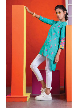 Orient Textile Embroidered Jacquard Unstitched Kurties OT19L 074 Diamond B - Spring / Summer Collection