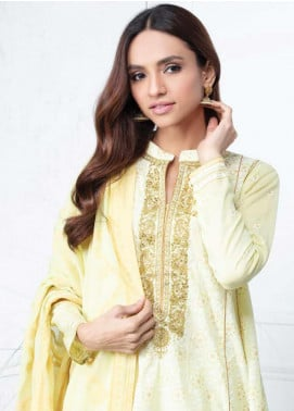 Orient Textile Embroidered Lawn Unstitched 3 Piece Suit OT20SS 015B - Spring / Summer Collection