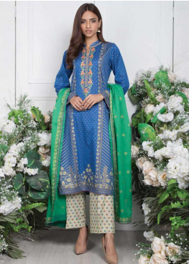 Orient Textile Embroidered Lawn Unstitched 3 Piece Suit OT20SS 019A - Spring / Summer Collection