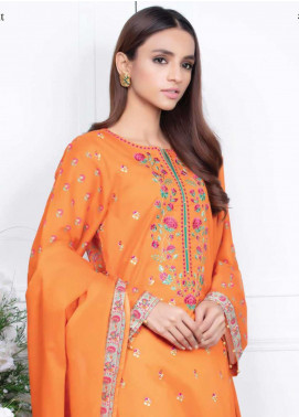 Orient Textile Embroidered Lawn Unstitched 3 Piece Suit OT20SS 031B - Spring / Summer Collection