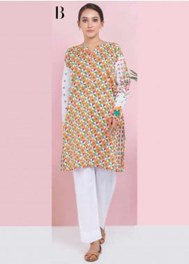 Orient Textile Embroidered Lawn Unstitched Kurties OT20SS 035B - Spring / Summer Collection