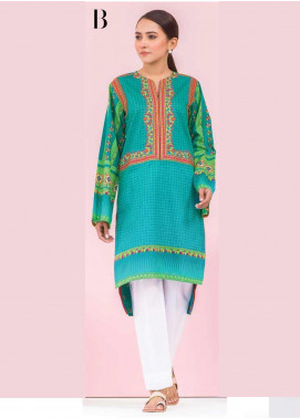 Orient Textile Embroidered Lawn Unstitched Kurties OT20SS 036B - Spring / Summer Collection