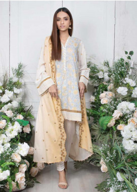 Orient Textile Embroidered Lawn Unstitched 3 Piece Suit OT20SS 038A - Spring / Summer Collection
