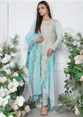 Orient Textile Embroidered Lawn Unstitched 3 Piece Suit OT20SS 038B - Spring / Summer Collection