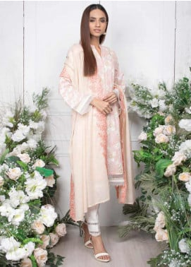Orient Textile Embroidered Lawn Unstitched 3 Piece Suit OT20SS 040B - Spring / Summer Collection