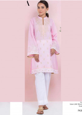 Orient Textile Embroidered Lawn Unstitched Kurties OT20SS 049A - Spring / Summer Collection