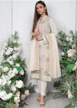 Orient Textile Embroidered Lawn Unstitched 3 Piece Suit OT20SS 051A - Spring / Summer Collection