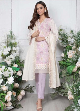 Orient Textile Embroidered Lawn Unstitched 3 Piece Suit OT20SS 051B - Spring / Summer Collection