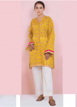 Orient Textile Printed Lawn Unstitched Kurties OT20SS 052C - Spring / Summer Collection