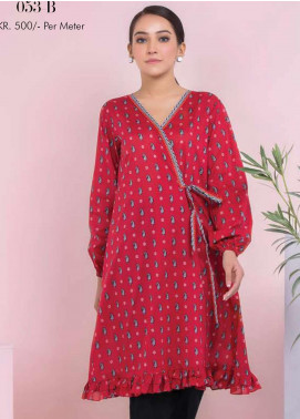 Orient Textile Printed Lawn Unstitched Kurties OT20SS 053B - Spring / Summer Collection