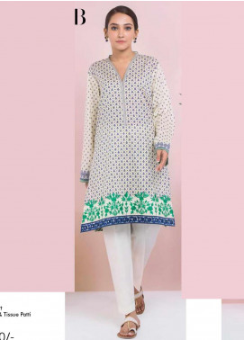 Orient Textile Embroidered Lawn Unstitched Kurties OT20SS 077B - Spring / Summer Collection