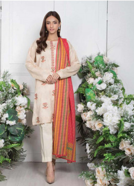 Orient Textile Embroidered Jacquard Unstitched 3 Piece Suit OT20SS 079A - Spring / Summer Collection