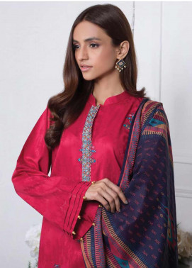 Orient Textile Embroidered Jacquard Unstitched 3 Piece Suit OT20SS 079B - Spring / Summer Collection