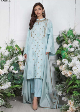 Orient Textile Embroidered Jacquard Unstitched 3 Piece Suit OT20SS 081A - Spring / Summer Collection