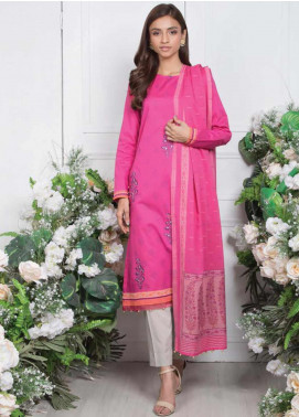 Orient Textile Embroidered Lawn Unstitched 3 Piece Suit OT20SS 083A - Spring / Summer Collection
