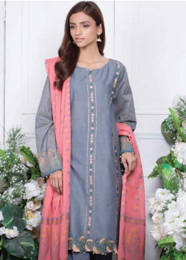 Orient Textile Embroidered Lawn Unstitched 3 Piece Suit OT20SS 084B - Spring / Summer Collection