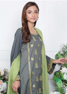 Orient Textile Embroidered Lawn Unstitched 3 Piece Suit OT20SS 085B - Spring / Summer Collection