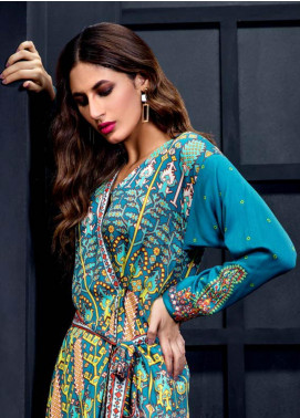 Orient Textile Embroidered Cottel Linen Unstitched Kurties OT19W 156 ETHNIC TWIST A - Winter Collection