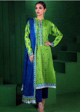 Orient Textile Embroidered Cotton Cotel Unstitched 3 Piece Suit OT19-W2 170 A - Winter Collection
