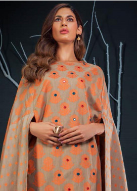 Orient Textile Embroidered Khaddar Unstitched Kurties OT19-W2 185 A - Winter Collection