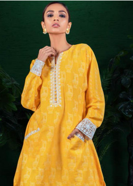 Orient Textile Embroidered Khaddar Unstitched Kurties OT19-W2 186 A - Winter Collection