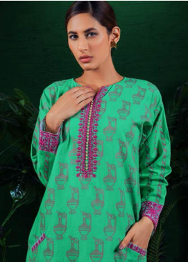 Orient Textile Embroidered Khaddar Unstitched Kurties OT19-W2 186 B - Winter Collection