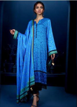 Orient Textile Embroidered Cottel Linen Unstitched 3 Piece Suit OT19-W2 197 B - Winter Collection