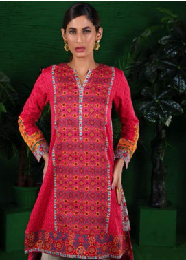 Orient Textile Embroidered Cotton Cotel Unstitched Kurties OT19-W2 199 A - Winter Collection