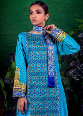 Orient Textile Embroidered Cotton Cotel Unstitched Kurties OT19-W2 199 B - Winter Collection