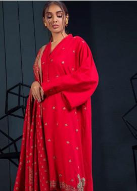 Orient Textile Embroidered Khaddar Unstitched 3 Piece Suit OT19-W2 206 A - Winter Collection