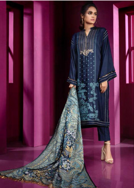 Orient Textile Embroidered Linen Unstitched 3 Piece Suit OT19-W2 216 - Winter Collection