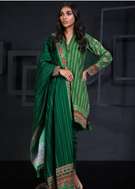 Orient Textile Printed Cotton Cotel Unstitched 3 Piece Suit OT19-W2 219 A - Winter Collection