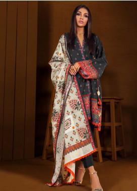 Orient Textile Printed Cotton Cotel Unstitched 3 Piece Suit OT19-W2 220 A - Winter Collection