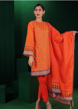 Orient Textile Embroidered Khaddar Unstitched 3 Piece Suit OT19-W2 225 A - Winter Collection