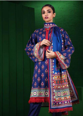 Orient Textile Printed Cotton Cotel Unstitched 3 Piece Suit OT19-W2 226 A - Winter Collection