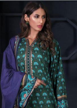 Orient Textile Printed Cotton Cotel Unstitched 3 Piece Suit OT19-W2 227 A - Winter Collection