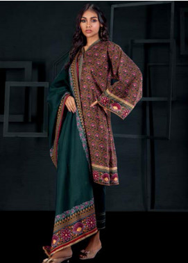 Orient Textile Printed Cotton Cotel Unstitched 3 Piece Suit OT19-W2 227 B - Winter Collection