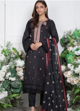 Orient Textile Embroidered Jacquard Unstitched 3 Piece Suit OT20SS 080B - Spring / Summer Collection