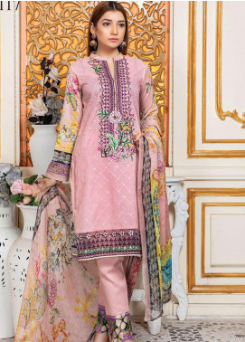Oriental by Master Fabrics Embroidered Chikankari Lawn Unstitched 3 Piece Suit MFO20 20117 - Spring / Summer Collection
