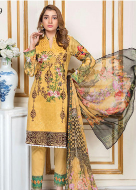 Oriental by Master Fabrics Embroidered Chikankari Lawn Unstitched 3 Piece Suit MFO20 20119 - Spring / Summer Collection